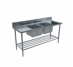 BenchTech Double Sink Benches - Centre