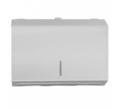White Powder Coat Horizontal Paper Towel Dispenser