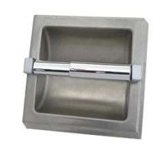 S.S. Surface Mounted Toilet Tissue  Dispenser - No Hood