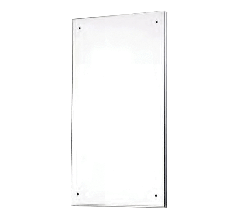 Polished S.S. Mirror 450mm x 575mm