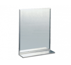 Compliant SS Channel Frame Mirrors (Shelf or No Shelf)