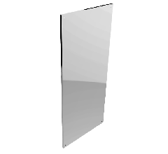 Polished S.S. Mirror-BTX-07-032: 450mm x 1000mm (Accessible Compliant)