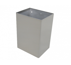 S.S. Wall Mount Waste Receptacle