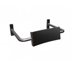 Vandal Resistant SS Straight Arm Backrest Only