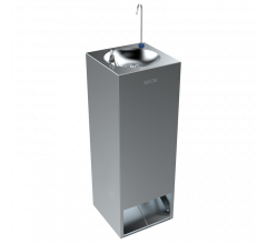 Foot Activated Twin Square Drinking Fountain