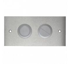 Pneumatic In Wall Cistern Low Profile Dual Buttons