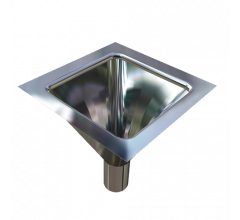 Inset Flushing Sink - Rectangle Bowl