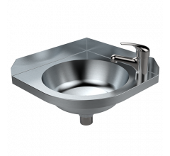 Wall Mounted Corner Basin
