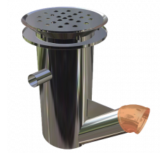 Cylindrical Bucket Trap