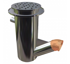 Cylindrical Plaster Trap