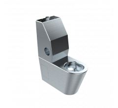 Security Accessible Toilet Suite with Integrated Backrest