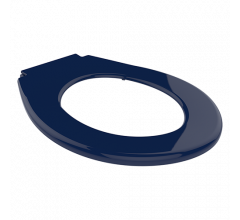 Navy Vandal Resistant Closed Front Toilet Seat