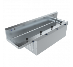 SS Drink Safe Accessible Refrigerated Drinking Trough with Bottle Filler