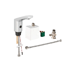 Curved Sensor Tap with Power Generator