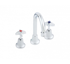 Hob Mounted Sink Set with Fixed Spout