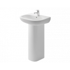 BRITEX 650 Ceramic Hand Basin with Full Pedestal