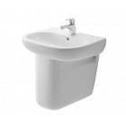 BRITEX 650 Ceramic Hand Basin with Semi Pedestal