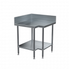 BenchTech Corner Work Bench with 150mm Splashback