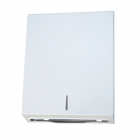 White Powder Coat Vertical Paper Towel Dispenser