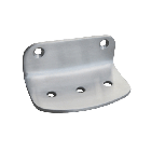S.S. Surface Mounted Soap Dish with Exposed Mounting