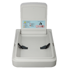 Vertical HDPE Baby Change Table