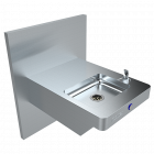 Dado Square Drinking Fountain - Accessible
