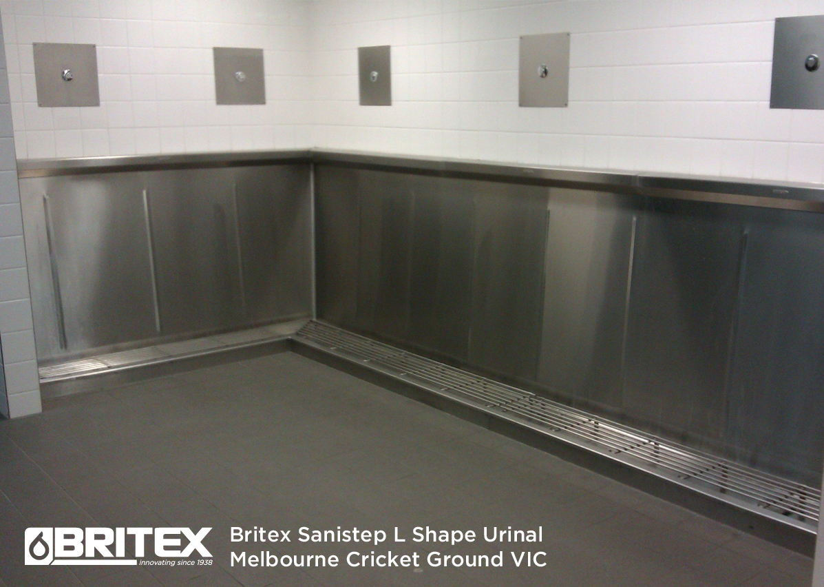 L Shape Sanistep Urinal