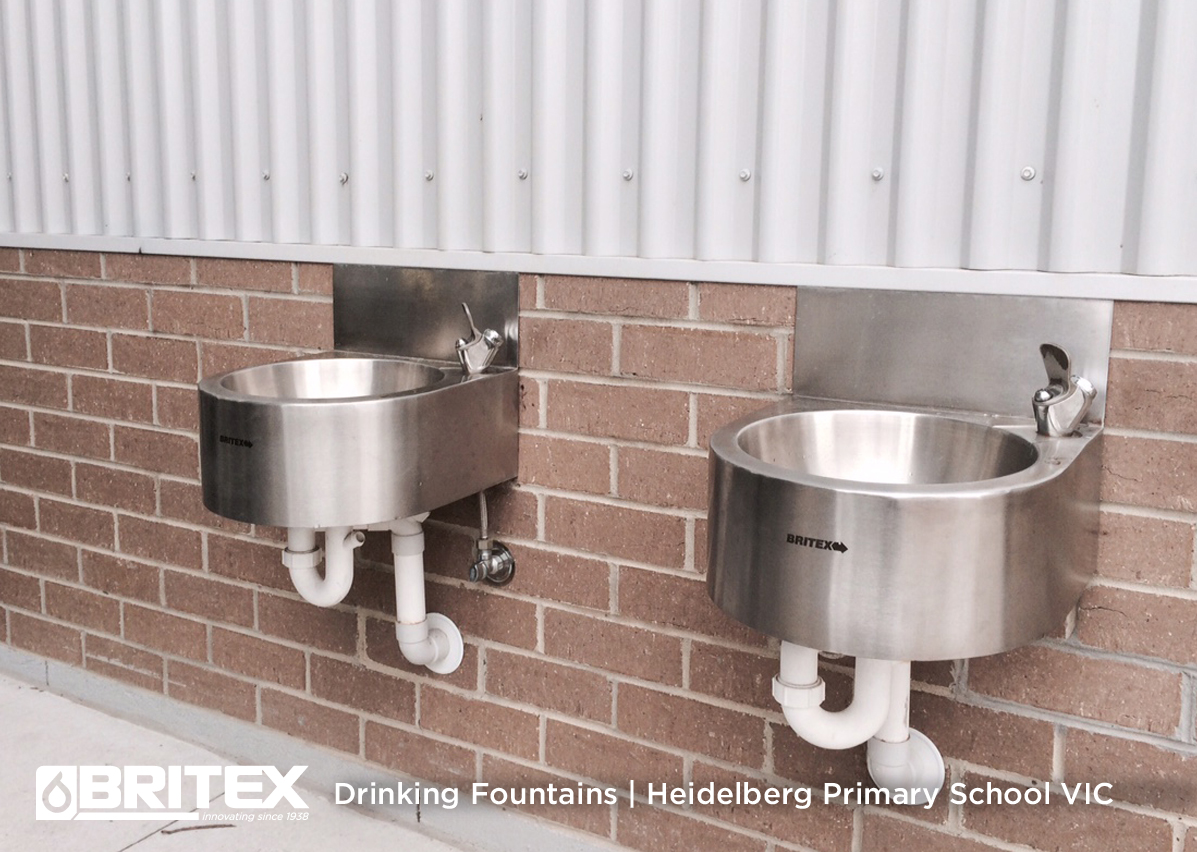 Wall Hung Drinking Fountain