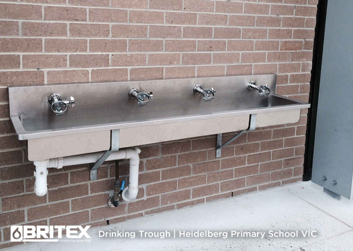 Wall Mounted Drinking Trough