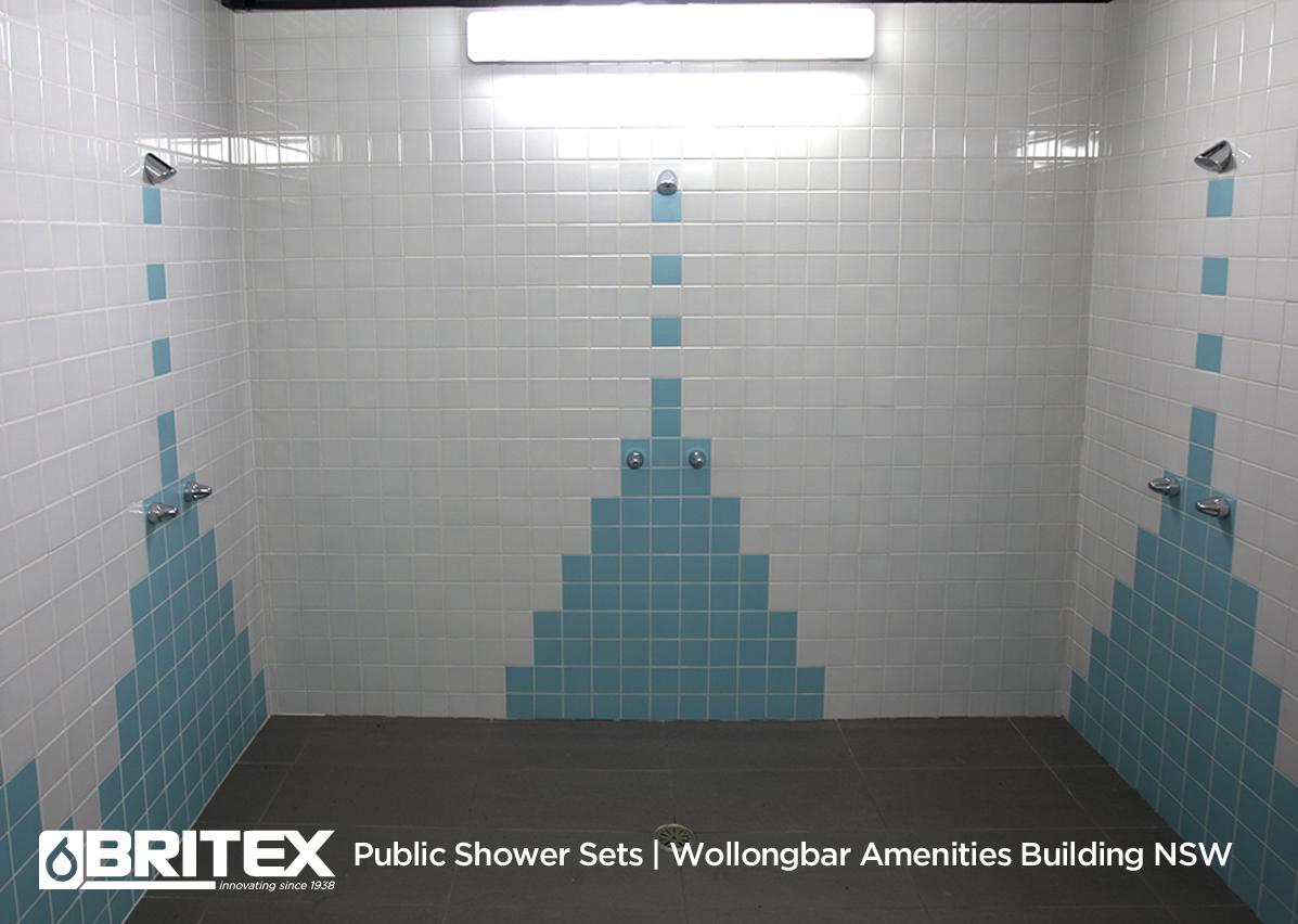 Public Shower Sets