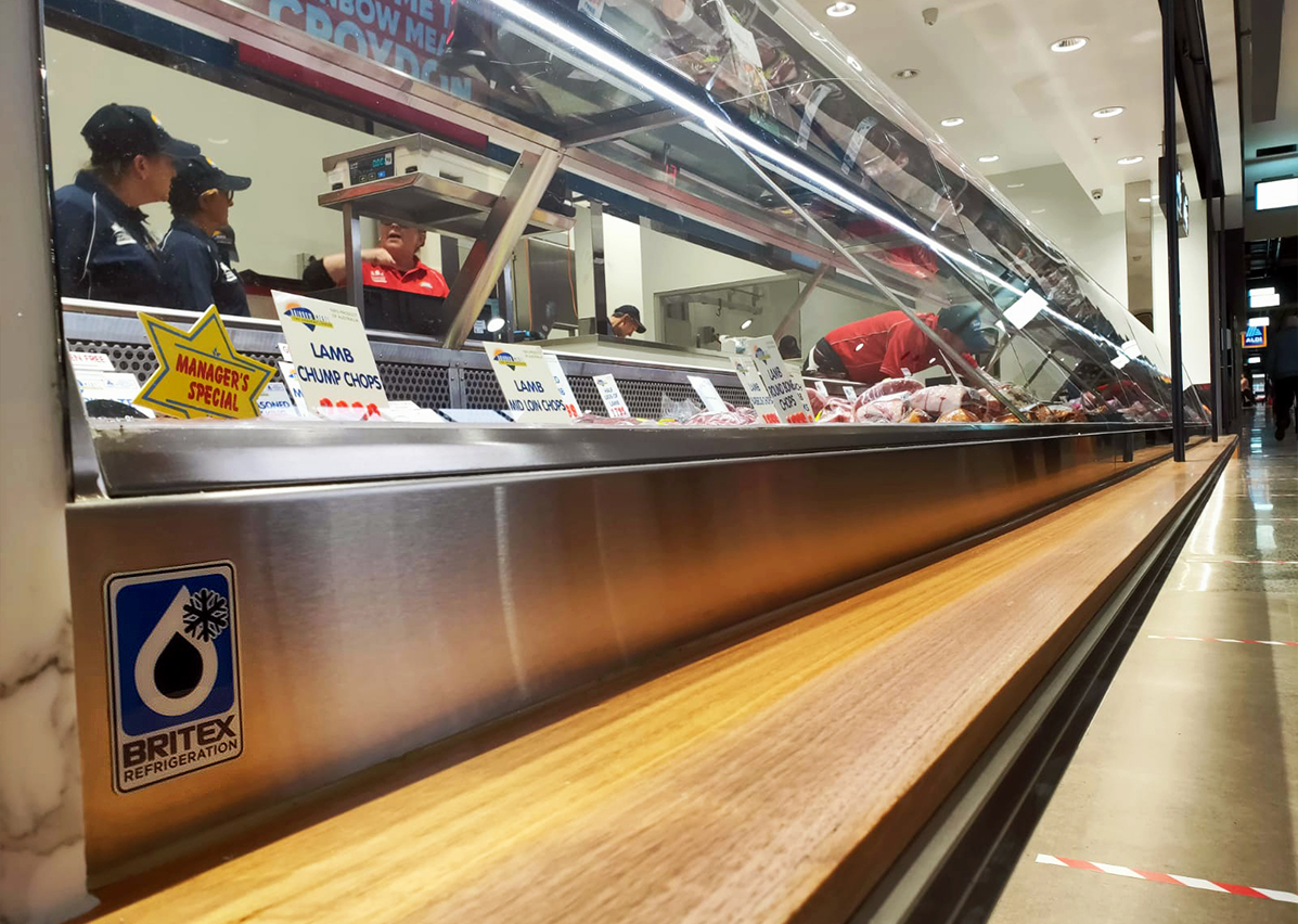 Stainless Steel Benches and Shelves - Rainbow Meats Croydon Central