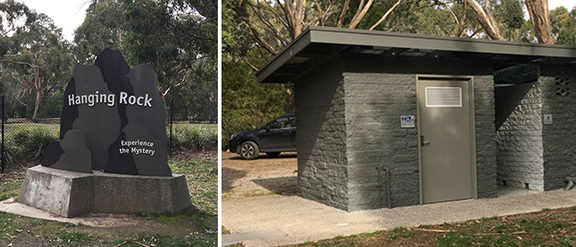 Hanging Rock Toilet Block
