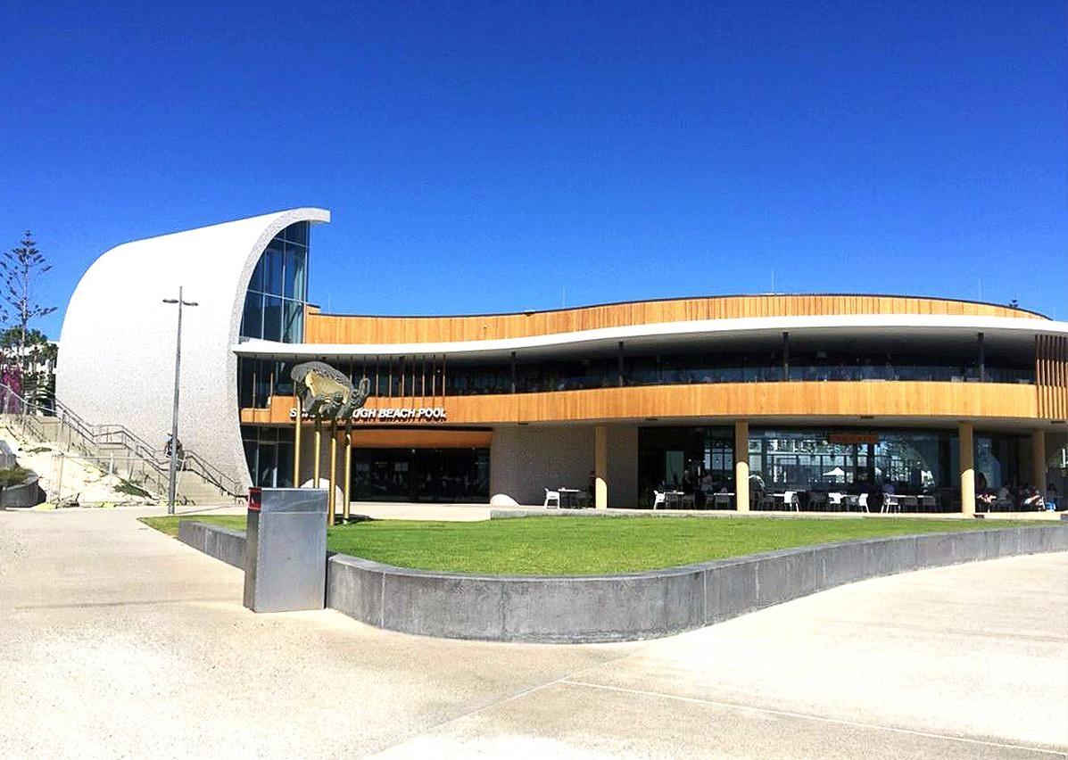 Scarborough Beach Services & Surf Club WA - Britex Stainless Steel vandal resistant fixtures