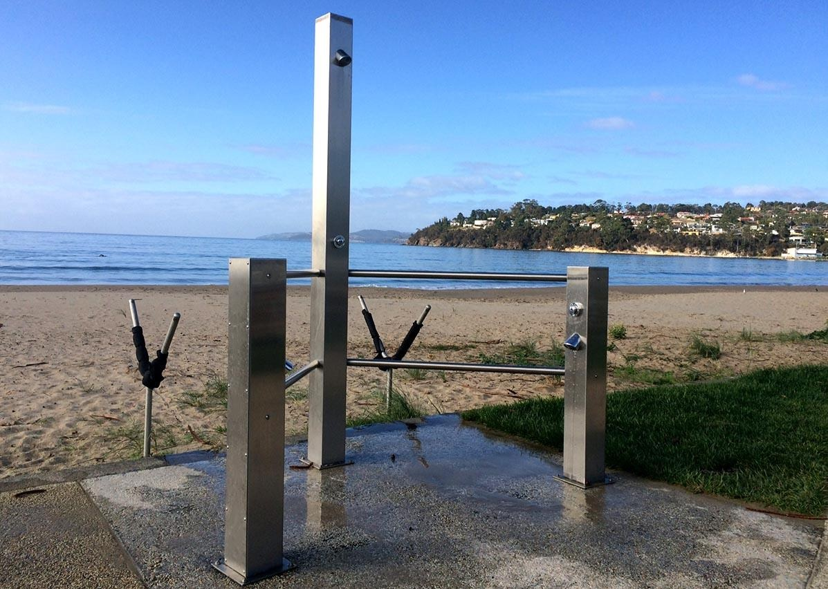 Britex Stainless Steel Fixtures for Beach Projects