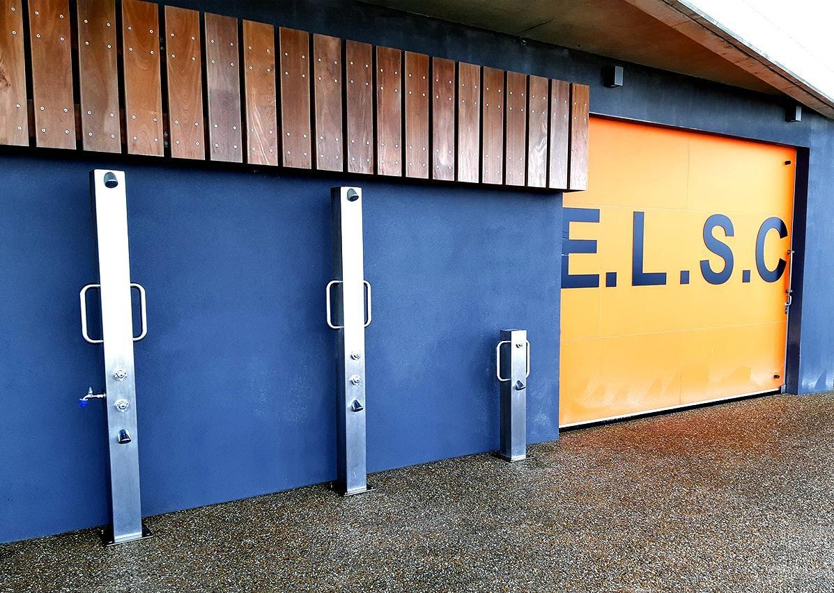 Britex Stainless Steel Shower Columns
