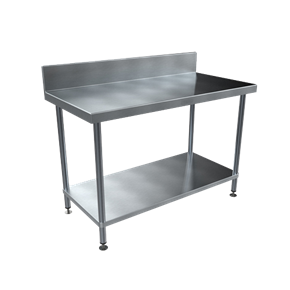 BENCHTECH 600 SERIES WORK BENCHES WITH 150 HIGH SPLASH BACKS