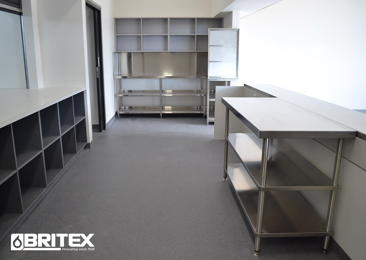 Stainless Steel Benches and Shelves