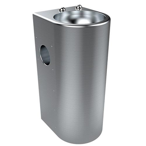 Britex Stainless Steel Pedestal Security Hand Basins SP