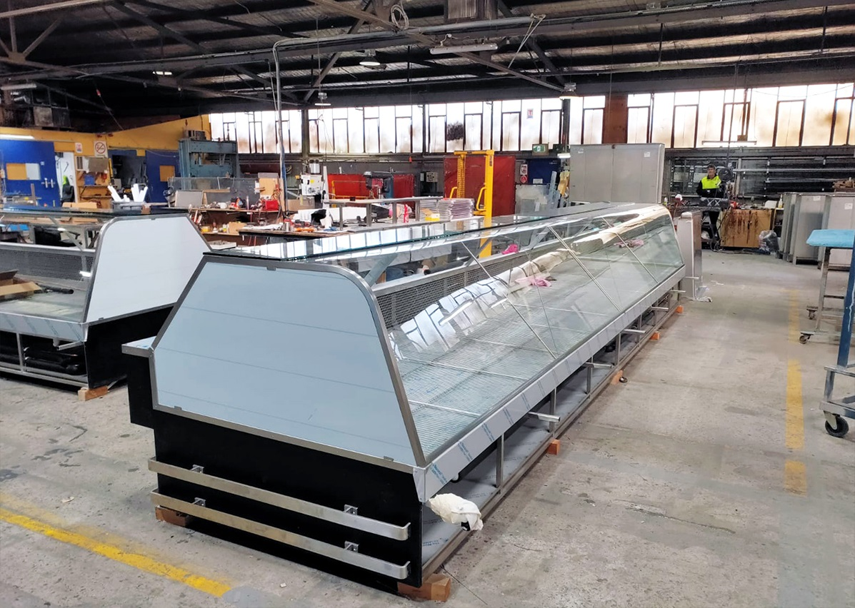 Stainless Steel Benches and Shelves - Cold Storage