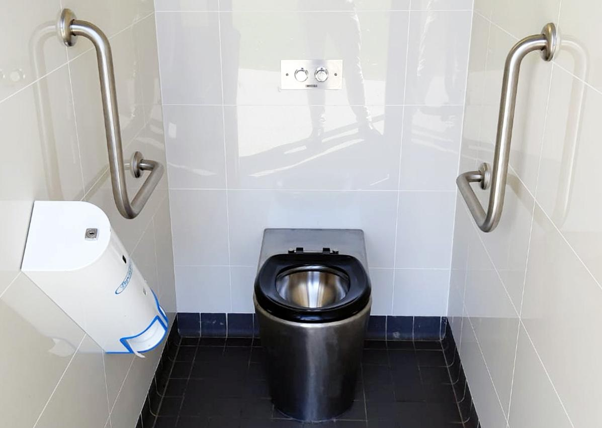 Britex S.S. Centurion Ambulant Toilet Pan (PCAM)