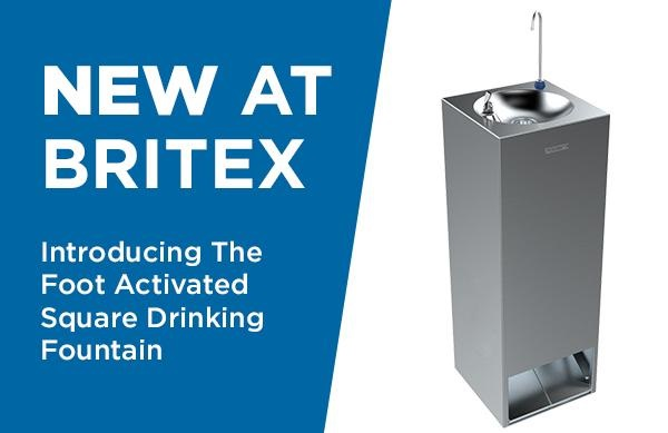 New Range: Foot Activated Drinking Fountains