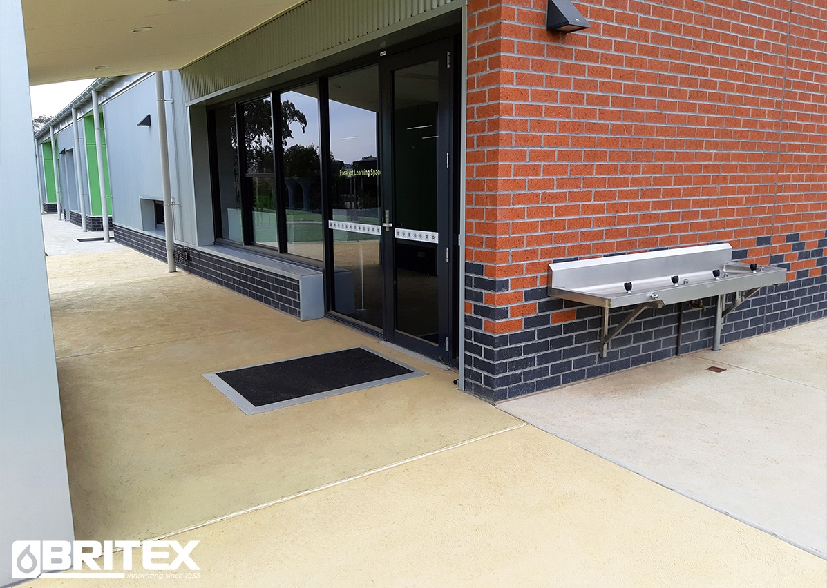 Troughs & Cleaner's Sinks for Ashley Park Primary School
