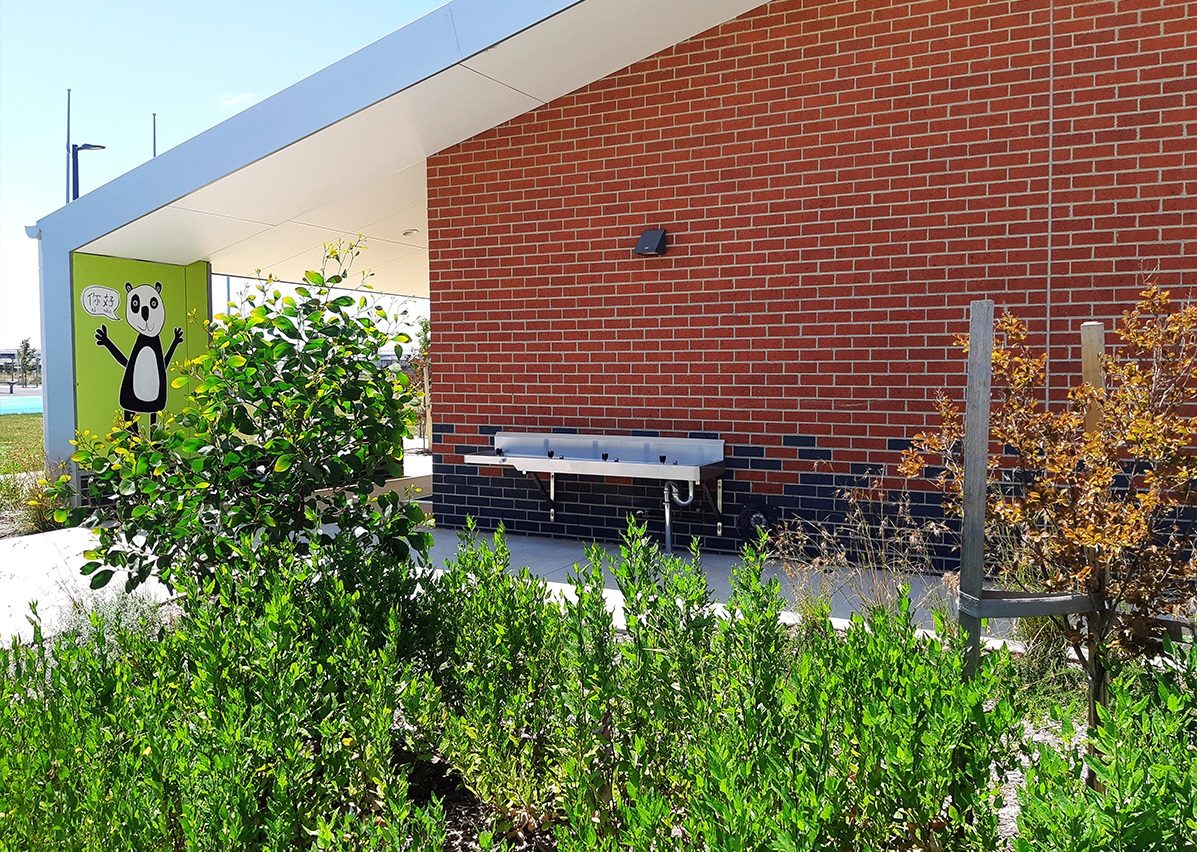Stainless Steel Fixtures & Fittings for Dohertys Creek College