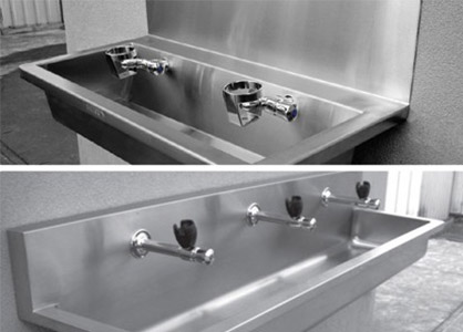 Stainless Steel Drinking Troughs For Schools